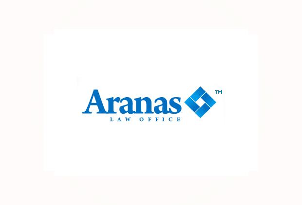 Logo design aranas law office paranaque