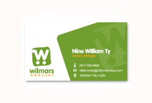 business-card-wilmars-grocery-tacloban